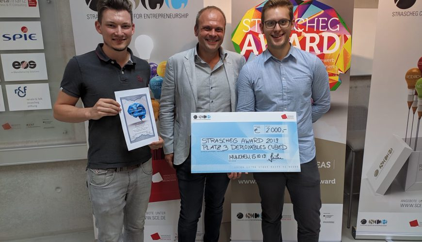 Deployables Cubed wins 3rd place in Stracheg Award